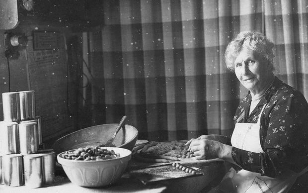 "Helena Marion Barnard, otherwise known as the Gingernut Lady"", received a British Medal of Honour for her efforts baking four and a half tons of biscuits over the course of both world wars."
