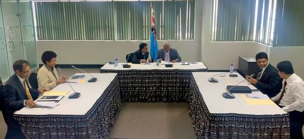 The Constitutional Offices Commission holds its first meeting in Suva, Fiji.