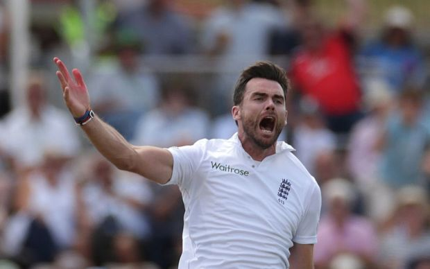 James Anderson now holds the English record for most Test wickets, overtaking Sir Ian Botham