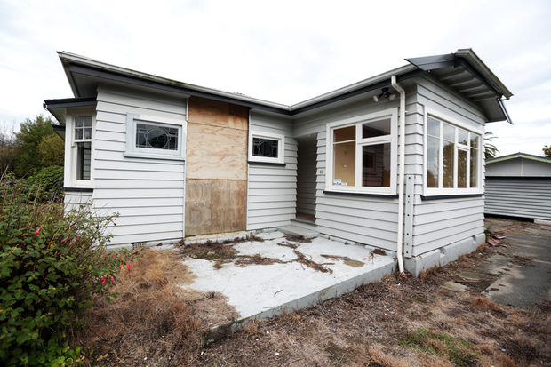 230414. Photo Diego Opatowski / RNZ. Christchurch. Red Zone houses.