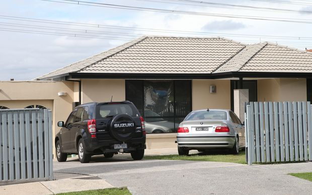 One of the houses in Melbourne's eastern suburbs raided by police on 18 April over an alleged plot to target Anzac Day commemorations.