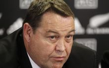 The All Blacks coach Steve Hansen.