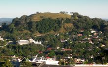 Mt Eden, as seen from One Tree Hill