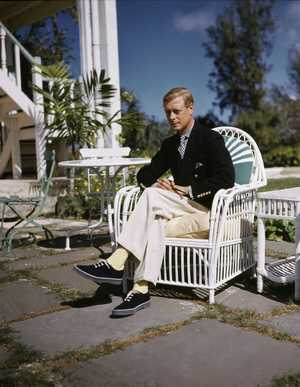 EDWARD VIII, 1894-1972, King of Great Britain, as Duke of Windsor. Picture dated 1950s.