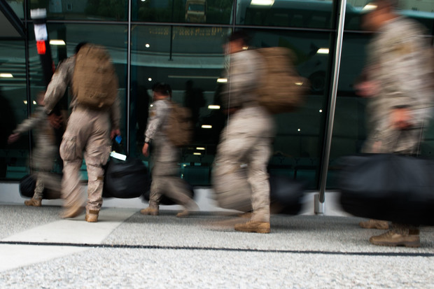 New Zealand troops leave for Australia