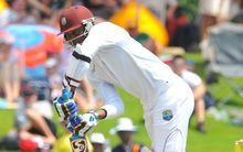 The West Indies cricketer Marlon Samuels.