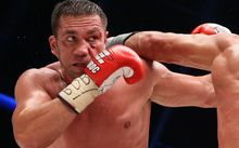 Wladimir Klitschko fights Kubrat Pulew of Bulgaria in Hamburg last year.