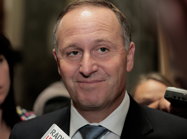 280114. Photo Diego Opatowski / RNZ. PM John Key at Parliament