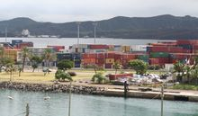 Port of Noumea, New Caledonia.