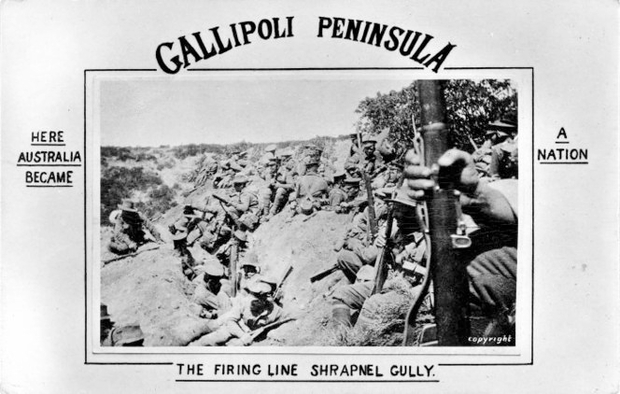 Gallipoli Peninsula - Here Australia became a nation.