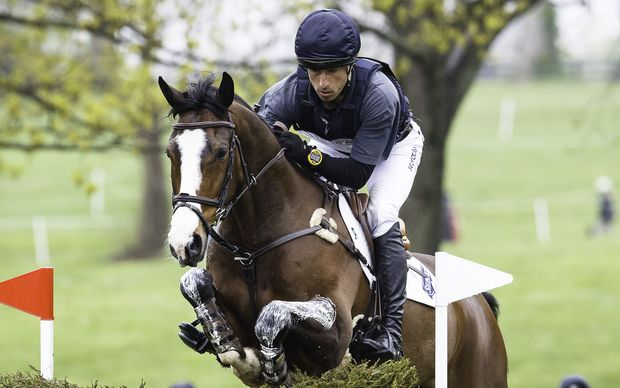 The New Zealand equestrian Tim Price.