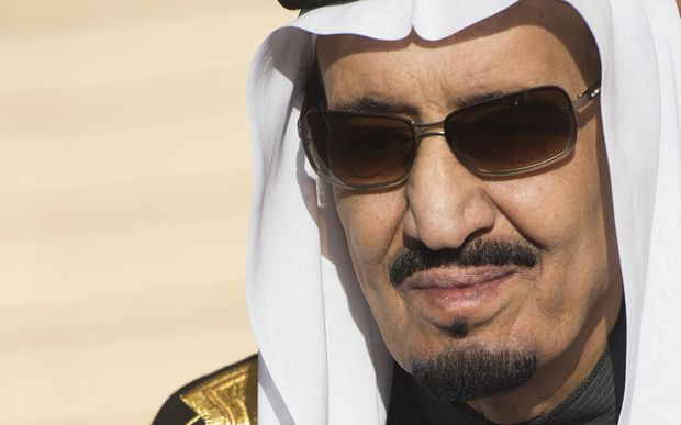 John Key will meet with King Salman (above) on Tuesday.