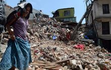 It is the worst disaster to hit Nepal for more than 80 years.