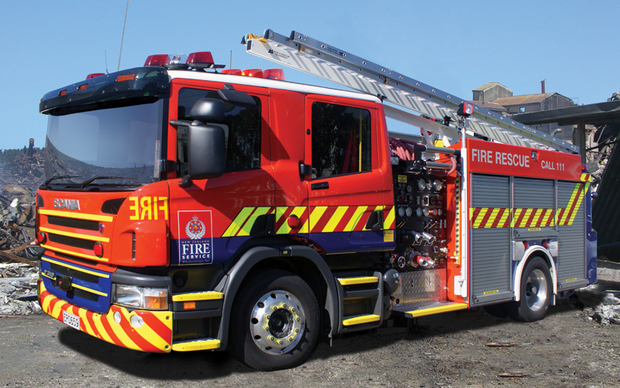 Fire appliance.