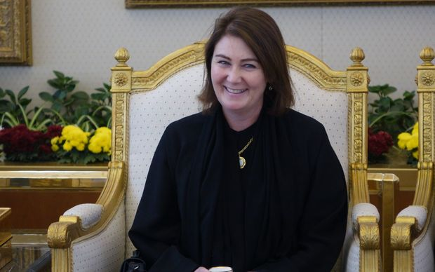 Bronagh Key in Saudi Arabia