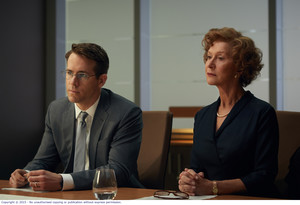 Ryan Reynolds, who plays Randol Schoebnerg, and Helen Mirren playing Maria Altmann, in The Woman in Gold