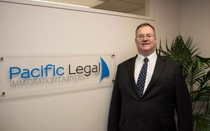 Immigration lawyer Richard Small.