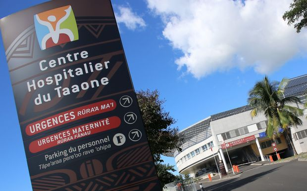 Taaone Hospital in Papeete, French Polynesia. The contract to build the hospital has been the subject of a corruption investigation involving former president Gaston Flosse.