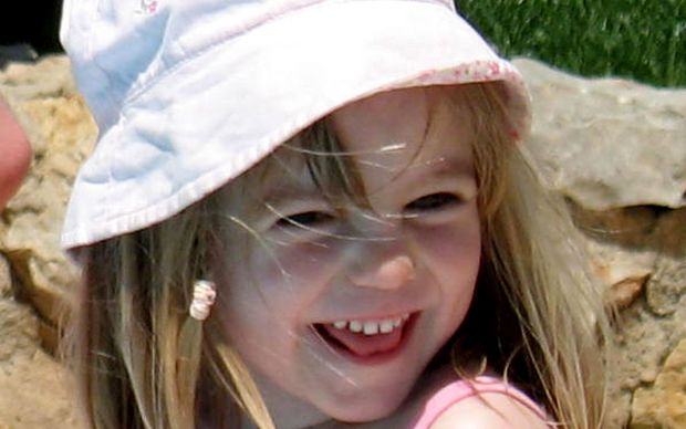 A photo of Madeleine McCann, taken the day she went missing.