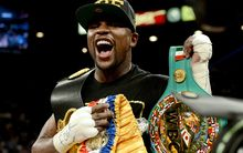 Floyd Mayweather is hoping to add yet another belt to his long list of achievements.