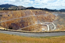 The goldmine in Waihi is changing hands from Newmont to NZ company Oceanagold.