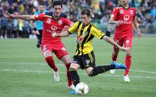 Wellington Phoenix striker Nathan Burns has been named A-League player of the year by Australia's football media.