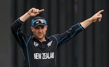The Black Caps captain Brendon McCullum during the one-day World Cup.