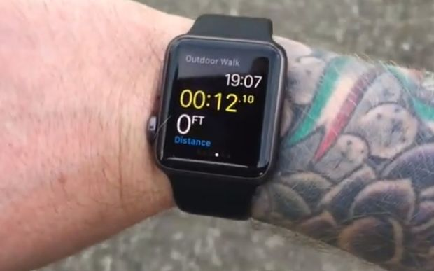 A video posted by YouTube user Michael Lovell demonstrates the Apple Watch's effectiveness when worn over tattoos.