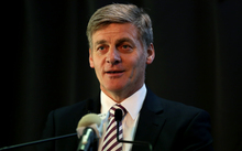 Bill English giving the pre-budget speech to the Wellington Chamber of Commerce.