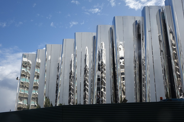 The Len Lye Centre in New Plymouth.