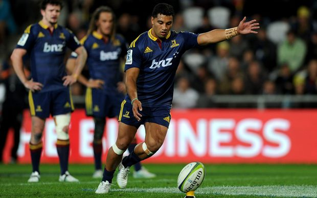 Lima Sopoaga is in great form for the Highlanders.