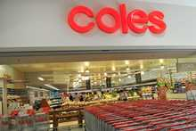 A Coles supermarket in Sydney.
