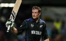 The Black Caps batsman Martin Guptill during the Cricket World Cup.
