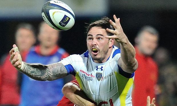 The former All Black Zac Guildford playing for French club Clermont.
