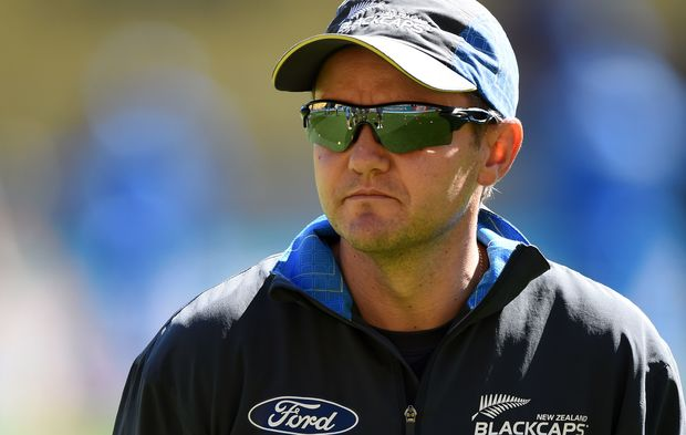 The New Zealand cricket coach Mike Hesson.