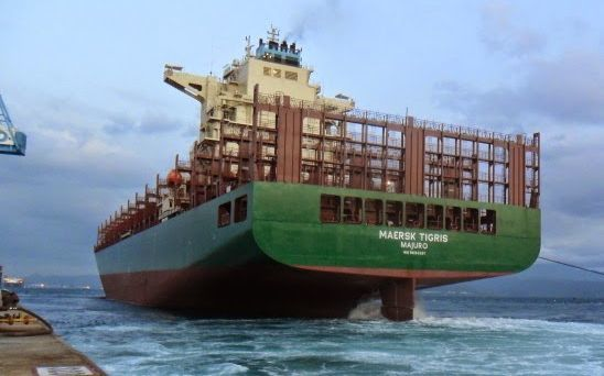 Maersk Tigris, Marshall Islands-flagged container