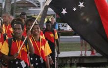 Papua New Guinea are using the Oceania Athletics Championships to prepare for the Pacific Games in Port Moresby.