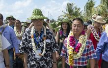 Jiansan Jia, deputy director of the Fisheries and Aquaculture Department at the United Nations, President of Tahiti Nui Ocean Foods Wang Cheng