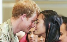Prince Harry at Linton Military Camp.