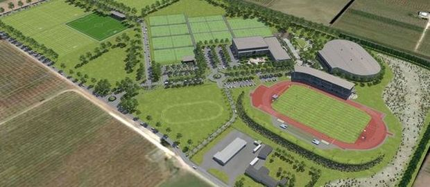 The Hawkes Bay Regional Sports Park, the proposed venue for Te Matatini 2017 in Hastings.