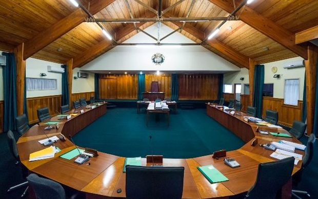 The Chamber of Parliament, Nauru