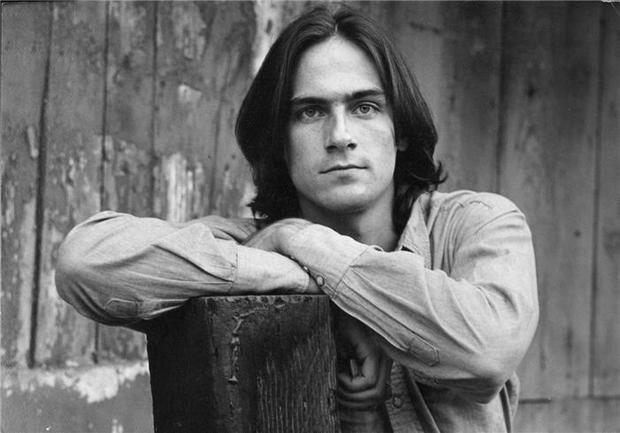 James Taylor, Lake Hollywood,CA, 1969.