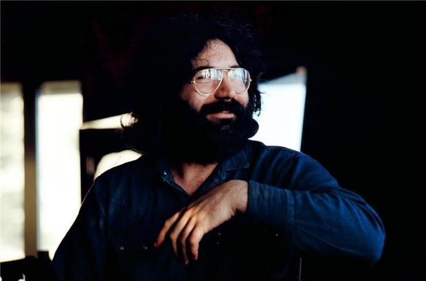 Jerry Garcia, Stinson Beach, CA 1971