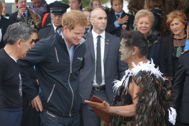 Prince Harry on 14 March 2015