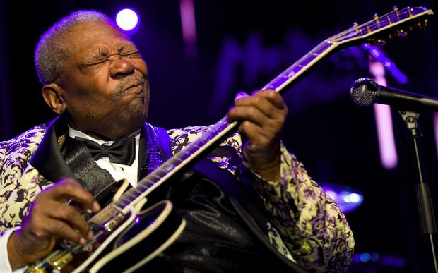Blues legend BB King has dies in Las Vegas.
