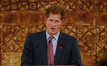 Prince Harry has paid tribute to New Zealand's emergency service and disaster response teams.