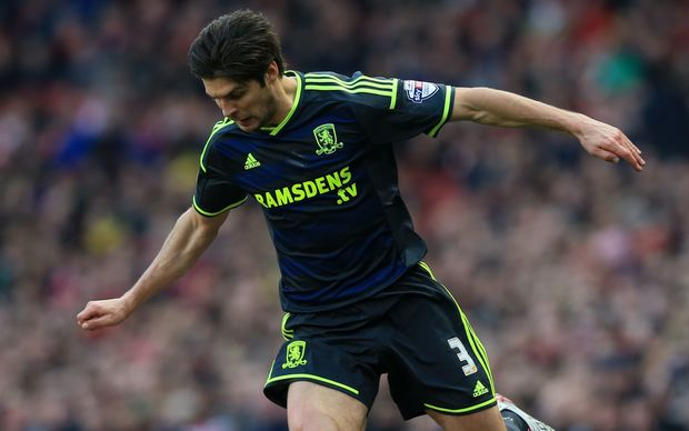 George Friend of Middlesbrough