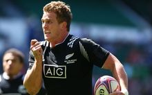 New Zealand's Scott Curry in action in London.