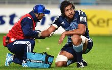 Steven Luatua's Super rugby season is over after suffering a shoulder injury.