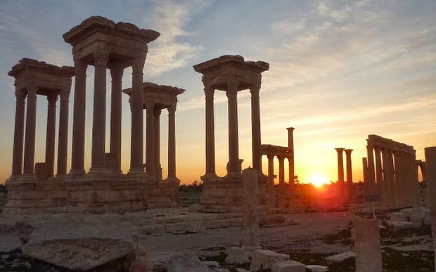 IS fighters are now in control of the ancient city of Palmyra.